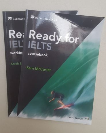 Ready for IELT coursebook + workbook McCarter CD