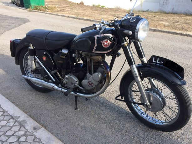 Matchless G80s 500cc de 1955