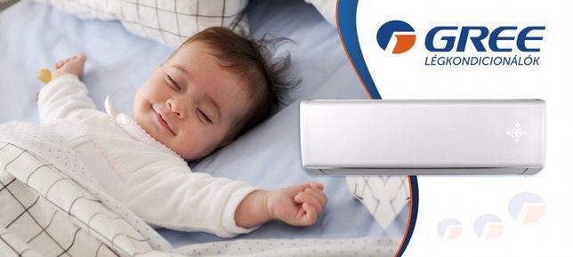 Montaż klimatyzacji, bezpłatna wycena fachowy dobór urządzenia Gree LG