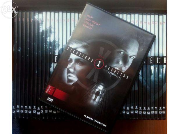 DVD`s X-Files Originais Novos