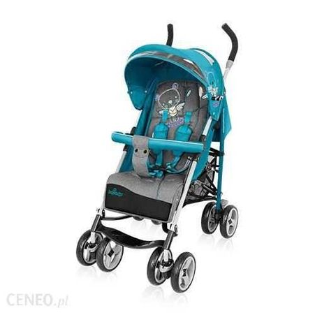 NOWY wózek Baby Design Travel Quick | Turkusowy