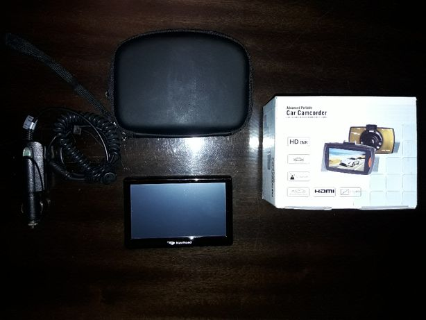 Nawigacja Navroad 560BF + kamera samochodowa Camcorder 1080P