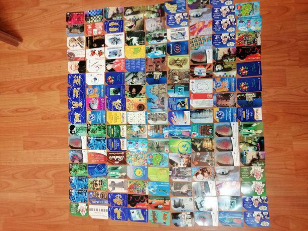 Karty telefoniczne 144 sztuki