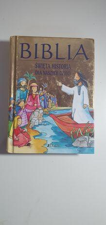 Książka Biblia, Święta historia dla naszych dzieci