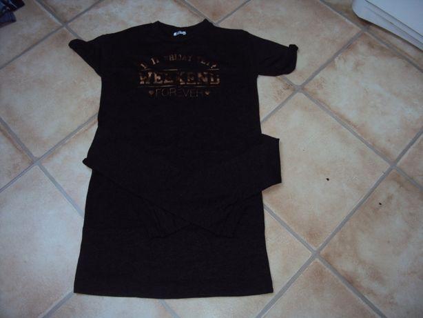 bluzka tunika sukienka xs/s 158/164 jak nowa