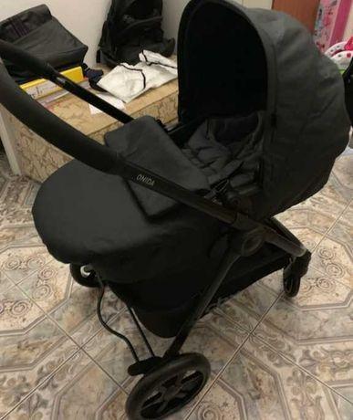 Wózek cbx cybex 3 w 1 fotelik gondola spacerówka