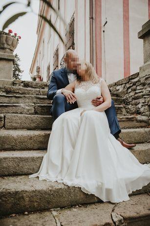 Piękna i wygodna suknia ślubna Coralia