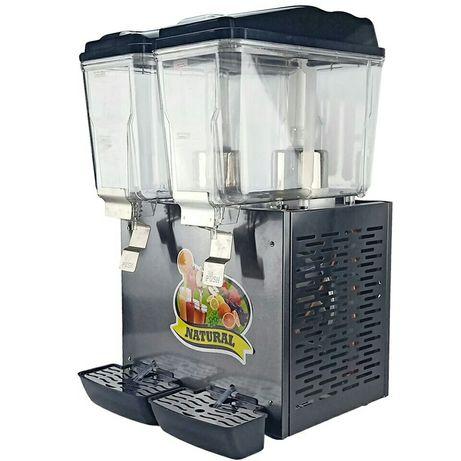 Refrigerador e aquecedor e dispensador de bebidas 16l+16l NOVO