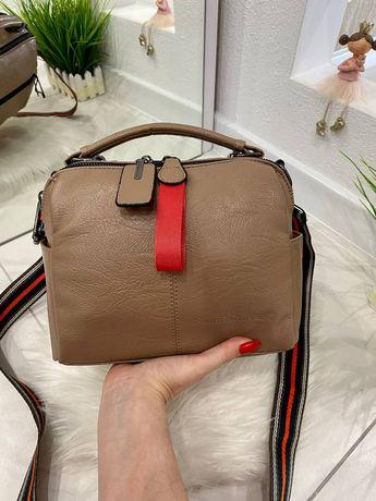 Женская кожаная маленькая сумка, жіноча сумочка шкіряна красивая модна