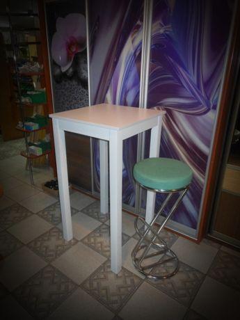 Stół stolik barowy 60x60 biały 110cm inne kolory