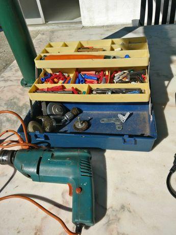 Ferramentas elétricas usadas