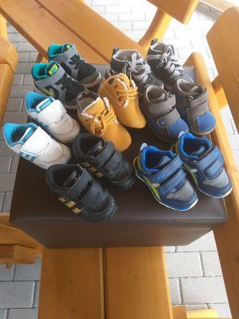 Buty Adidas, Nike, Zara, Kornecki r. od 18 do 21.