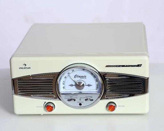 Gramofon radio FM lata 50-te retro AUNA