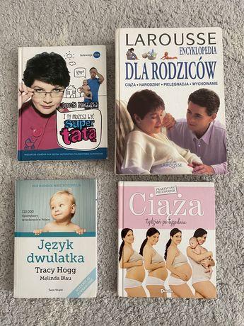 Książki  Superniania Larousse Ciąża Jezyk dwulatka
