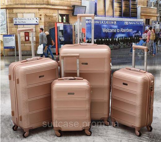 Чемоданы поликарбонат валіза WINGS 203 НОВИНКА! Польша