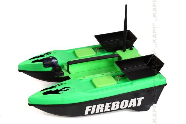 Łódka zanętowa FIREBOAT polska łódka. NOWOŚĆ