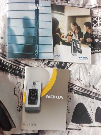 Instrukcja Nokia 8910i nokia 6650 nokia 6131