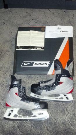 Łyżwy hokejowe Nike Bauer NBH Vapor Race TI Skate SR