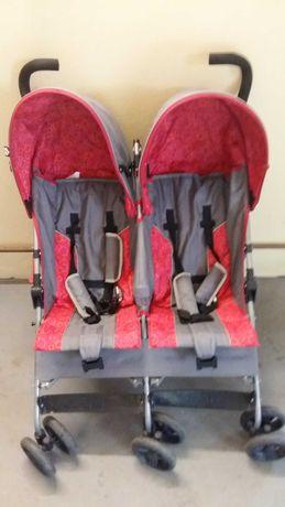 Podwójny wózek dziecięcy