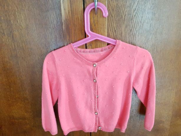 Sweterek  i bolerko dla dziewczynki