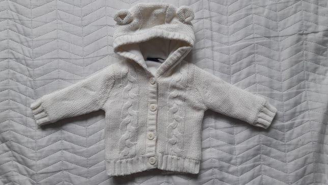 Sweter, polar beżowy rozm 62/68 bardzo ciepły