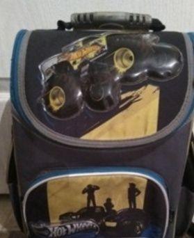 Рюкзак Kite Кайт школьный hot wheels ортопедический каркасный. д Обмен