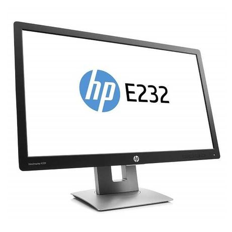 "HP Elitedisplay E232 23"" ips fhd vga HDMI - Garantia 1 ano - Loja"