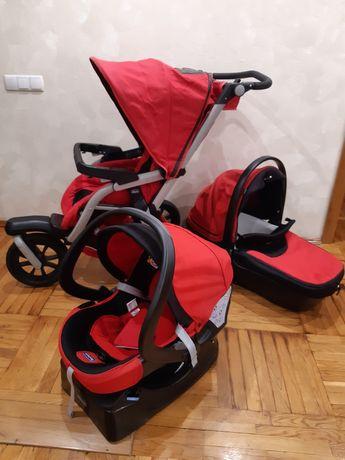 Продам коляску chicco activ 3 (3в1)