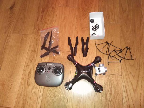 Dron hjhrc, uszkodzony, na części, do naprawy. Kamerka wi fi.