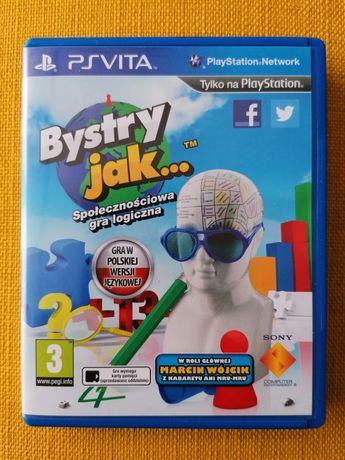Bystry Jak ... /Smart as ... PS Vita