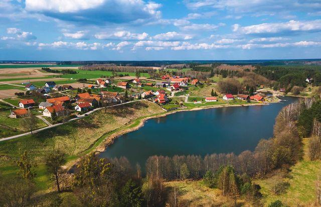 Sprzedam działkę 2300 m2 w Łutynowie (4 km od Olsztynka)