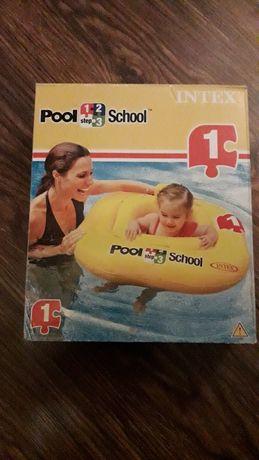 Siedzisko koło ponton dla dzieci do pływania