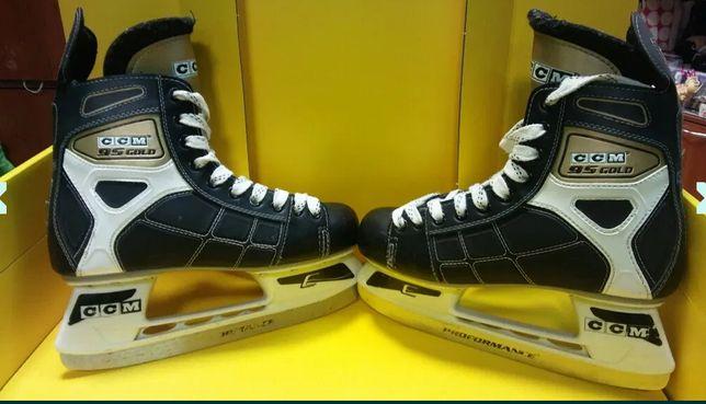 Коньки хоккейные CCM 95Gold размер 41