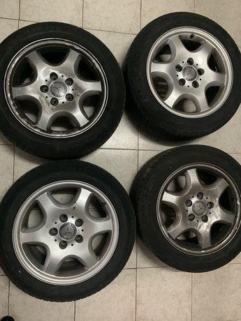 """Jantes Mercedes Benz 16"""" com pneus"""