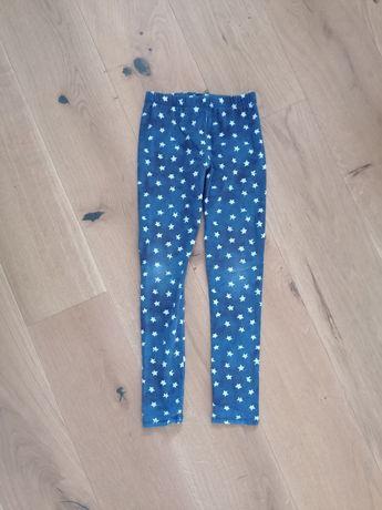 Markowe Leginsy + spodnie dresowe /128