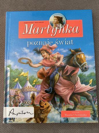 """""""Martynka poznaje świat"""" opowiada Wanda Chotomska"""