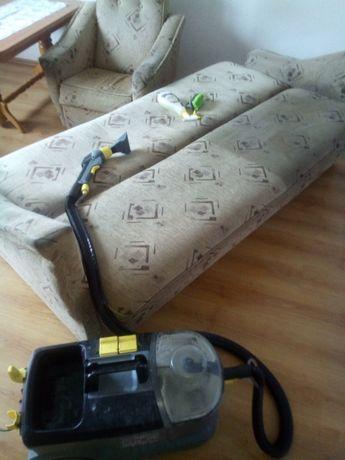 Pranie dywanów, tapicerki meblowej,samochodowej.Mycie kostki brukowej.