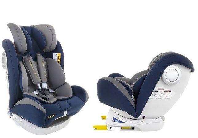 Fotelik samochodowy 0-36kg Summer Baby BERTON Isofix SPS OBROTOWY 180°