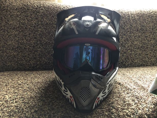 Кросовий шлем