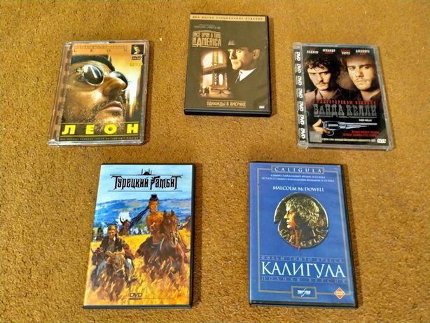 DVD лицензионные фильмы 5 шт.