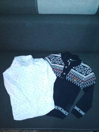 Koszula + sweter idealne na święta