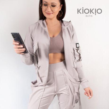 Dres damski styl techwear hip hop redesign streetwear XL
