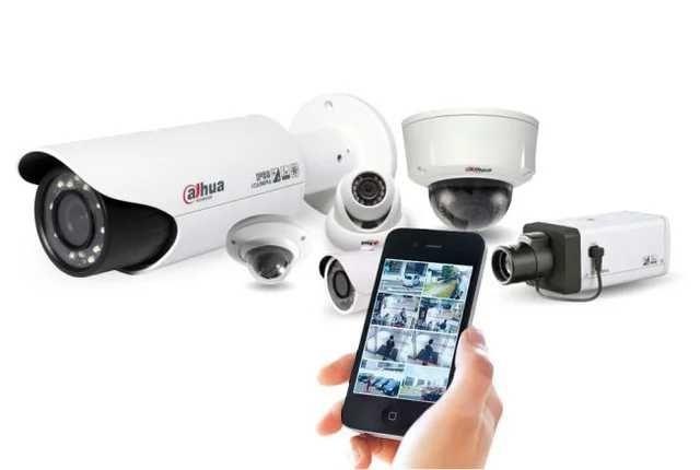 Установка, монтаж сигнализации и камер видеонаблюдения
