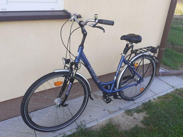 Rower damka Rixe niemiecki koła 28 alu rama 8 biegów nexus amortzator