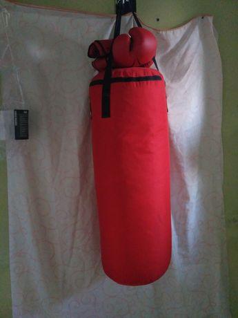Saco de boxe 850 vermelho