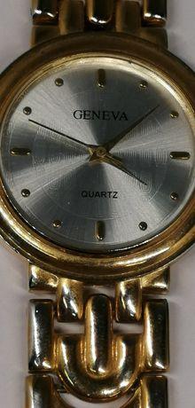zegarek nareczny damski GENEVA w kolorze złotym sklep