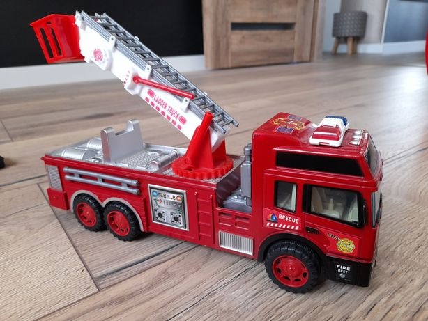 Wóz strażacki, auto, samochód