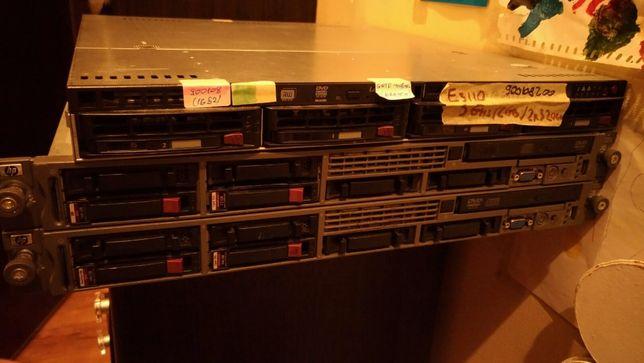 Сервер HP ProLiant DL360 G5 2x Intel Xeon E5420 2,5/16GB/2x500GB/2 PSU