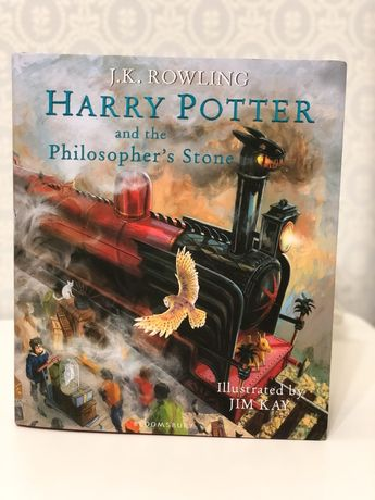 Harry Potter and the philosophers stone ,книга на английском