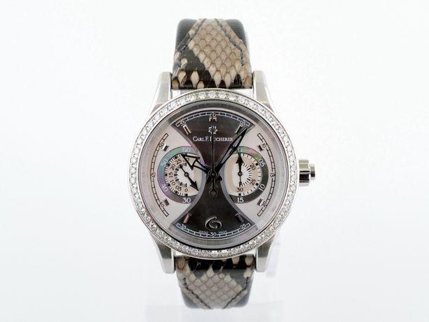 Женские новые часы Carl F. Bucherer Manero Monograph 35 мм